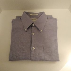 100% Cotton Tailored Fit Button Front Dress Shirts